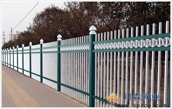 三横杠锌钢护栏网