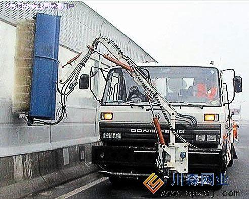 声屏障隔音墙清洗-专业清洗车清洗